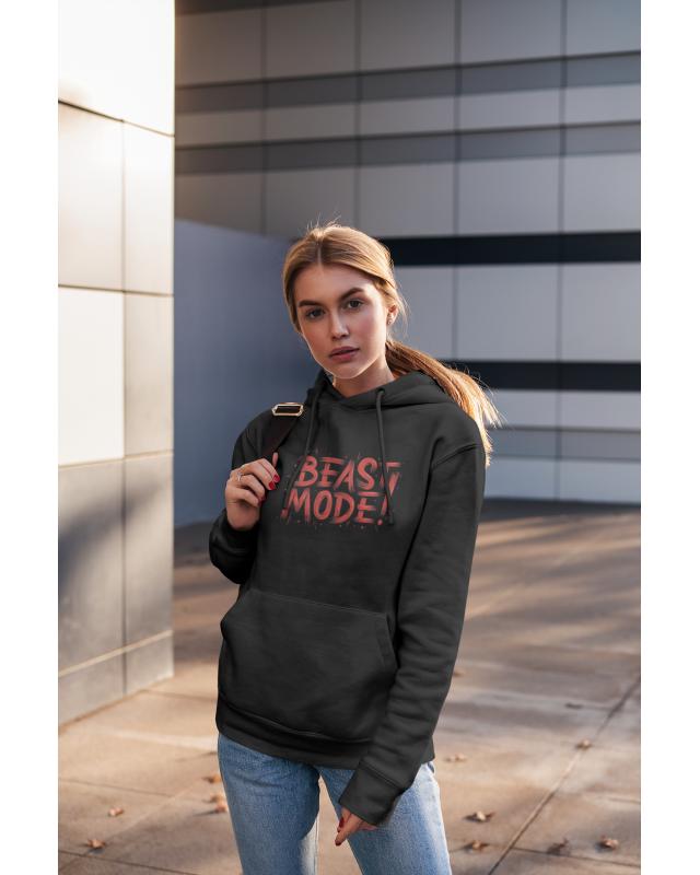 Дамски суичър - Beast mode