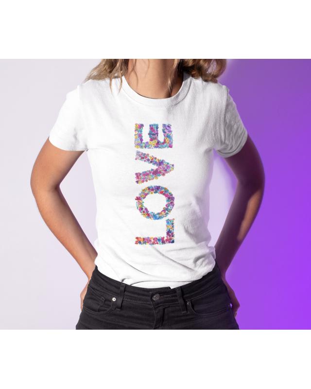 Тениска- Color love