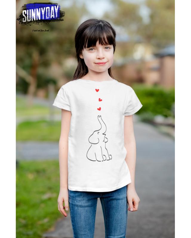 Детска тениска- Слонче