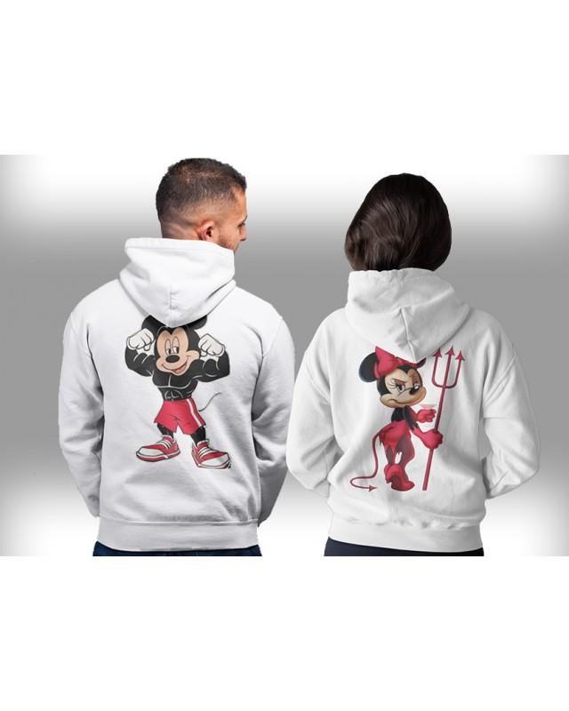 Суичъри за двойки- Mickey & Minnie COOL