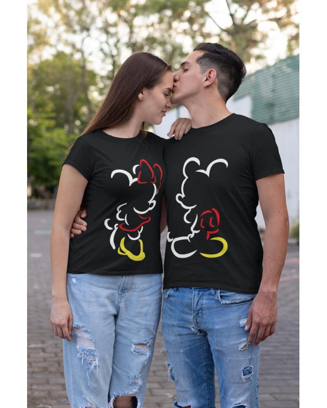 Тениски за двойки- Mickey/ Minnie