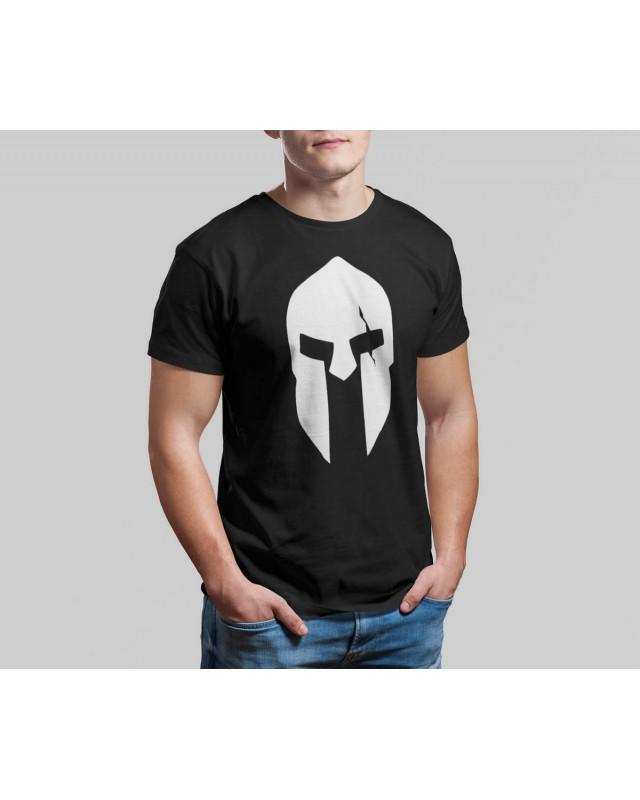 Мъжка тениска - Spartan - черно