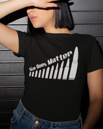 Тениска- Size Does Matter