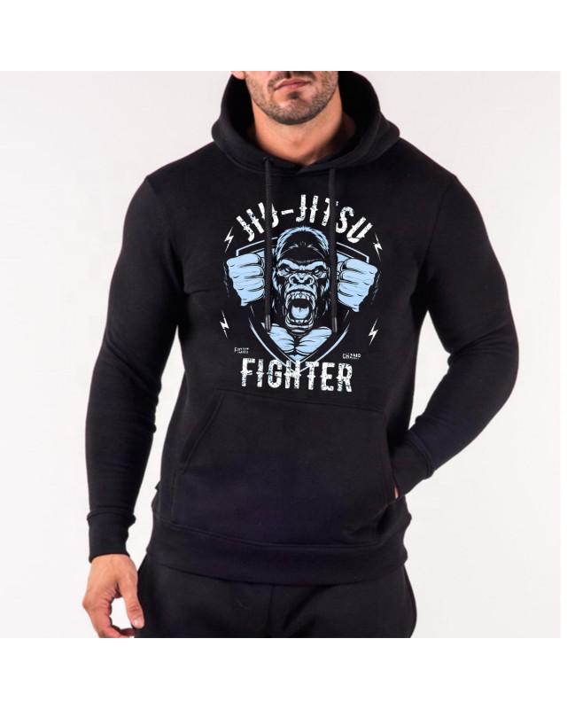 Черен суичър - Jiu Jitsu Fighter