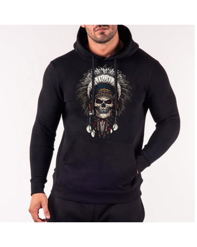 Черен суичър - Skull