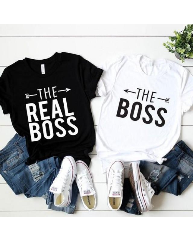 Тениски за двойки - The Boss & Real Boss