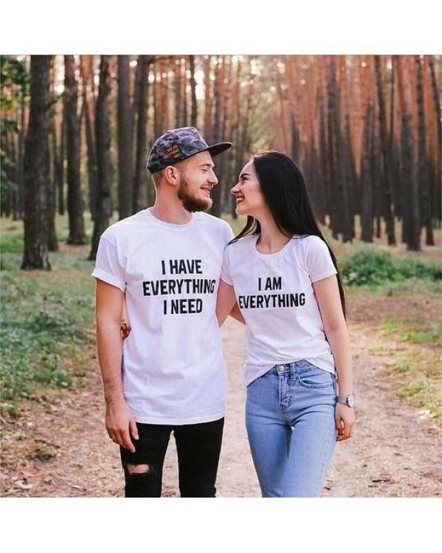 Тениски за двойки - I am everything