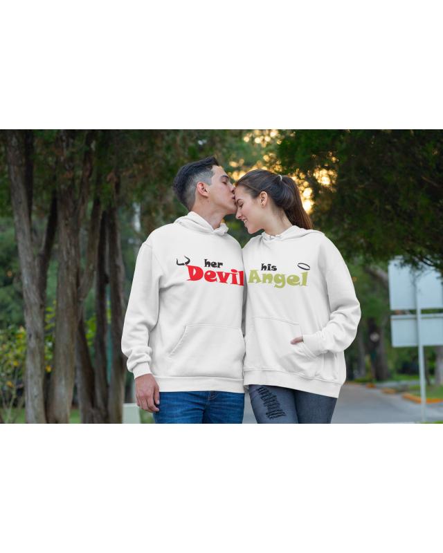 Суичъри за двойки- Devil & Angel