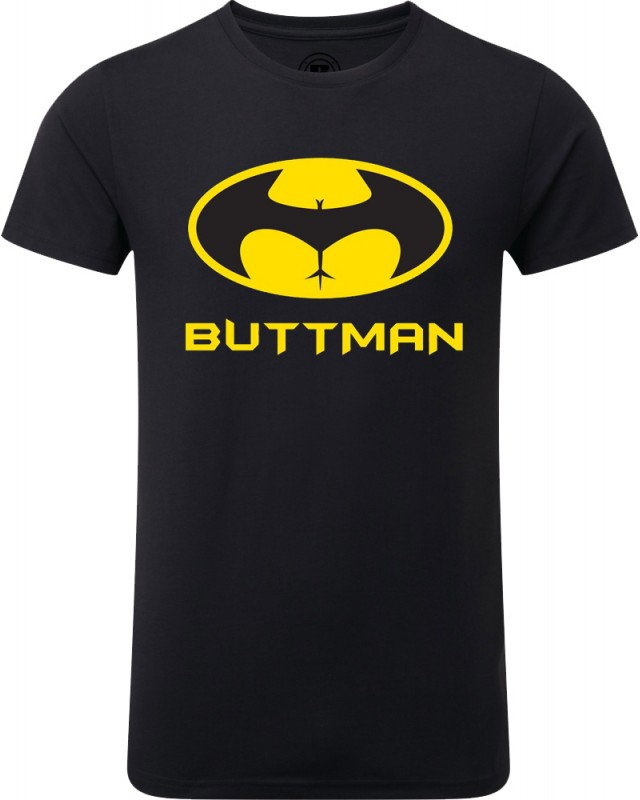 Мъжка тениска Buttman в черно