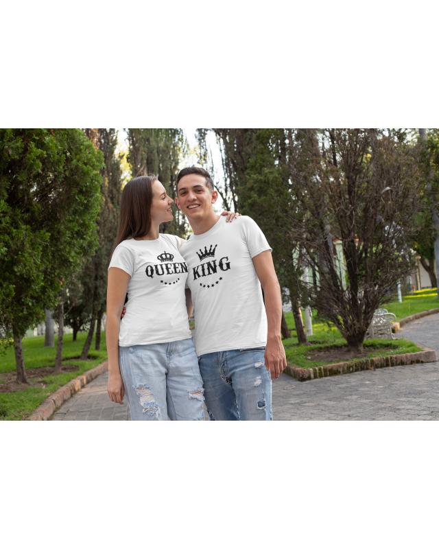 Тениски за двойки- Крал и Кралица