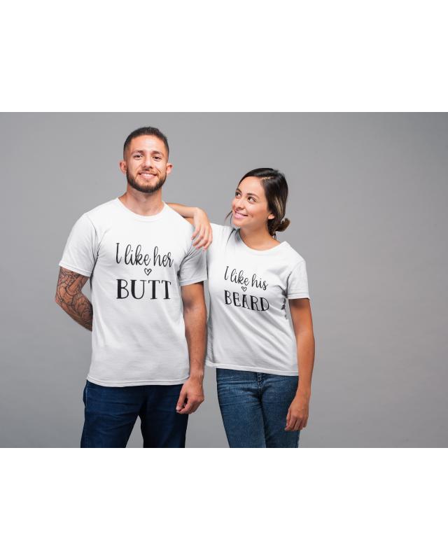 Тениски за двойки- I like..