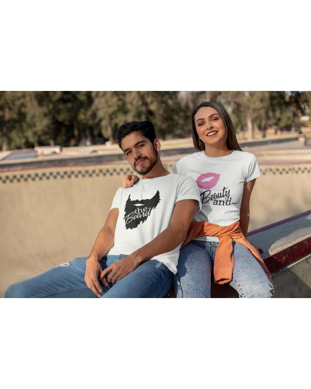 Тениски за двойки- Beauty and The Beard