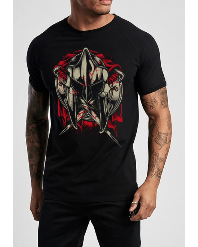 Черна тениска -  Warrior