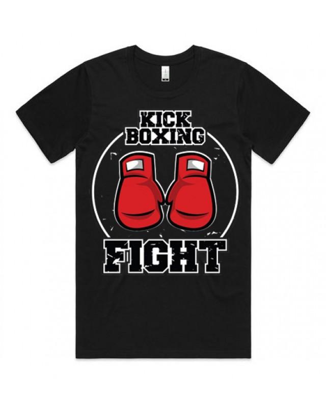 Черна Тениска - Kick Boxing