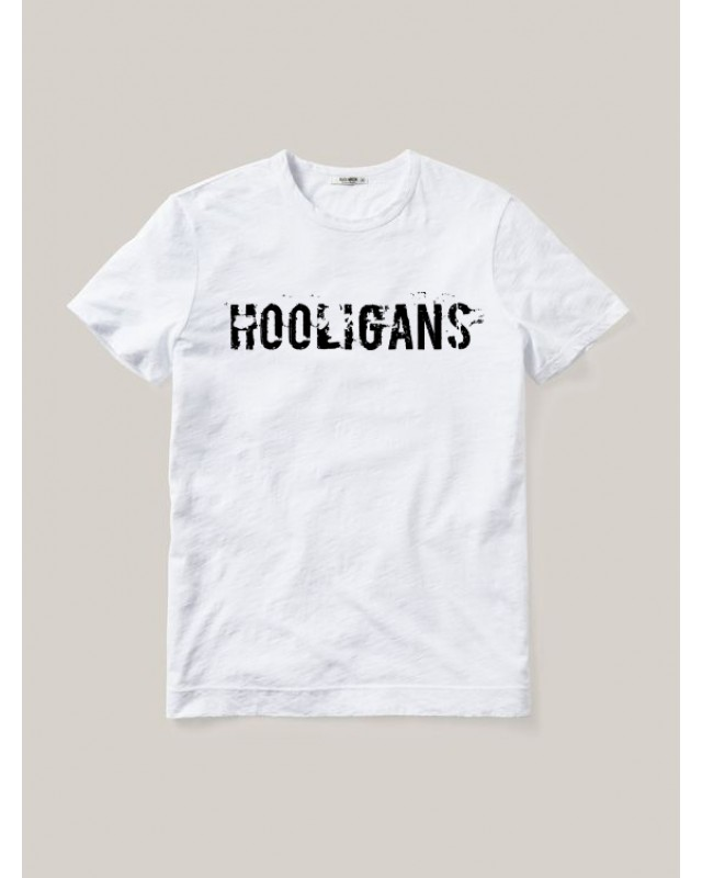 Бяла тениска - Hooligan