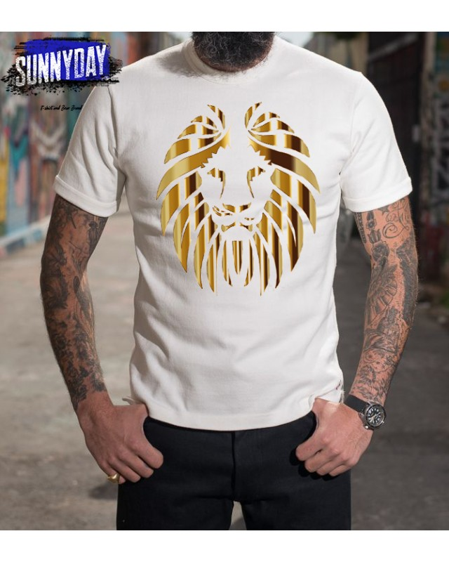Тениска- Gold lion