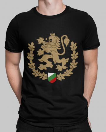Черна тениска - Велика България - черна